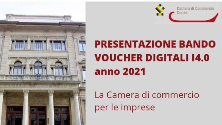 BANDO VOUCHER DIGITALI CAMERA DI COMMERCIO